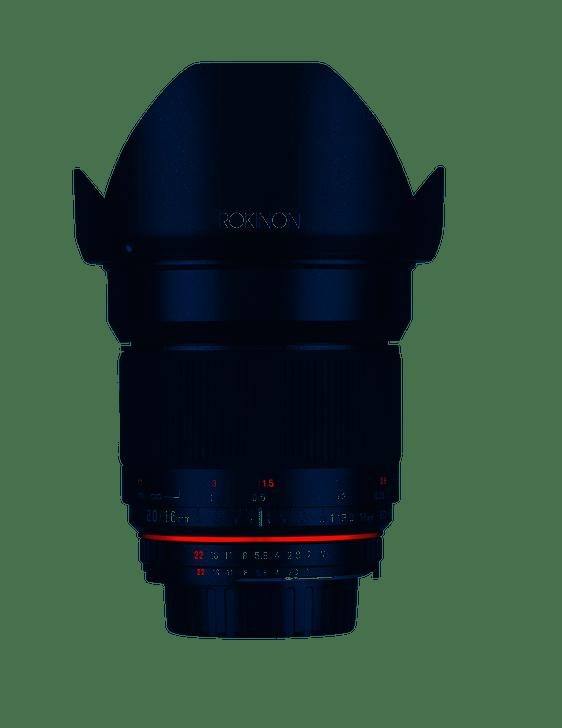 Rokinon 16mm f/2.0 for Canon / APS-C