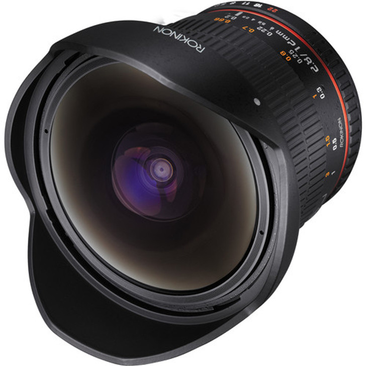 Rokinon 12mm f/2.8 ED AS IF NCS UMC Fisheye Lens for Pentax K Mount