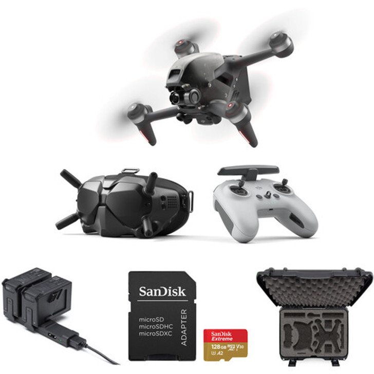 DJI FPV Drone with Case & Fly More Kit - Coming Soon!