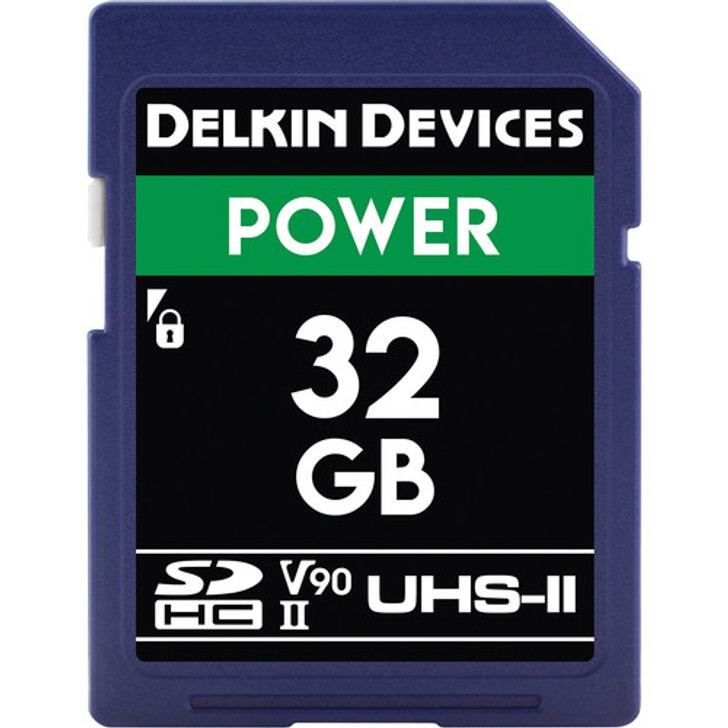 Delkin Devices POWER UHS-II SDXC Memory Card