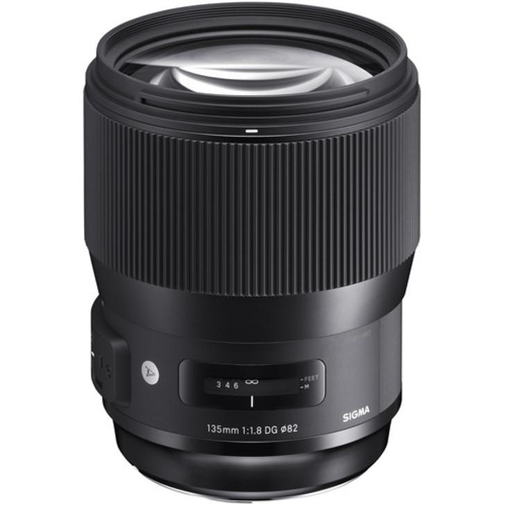 Sigma 135mm f/1.8 DG HSM Art Lens