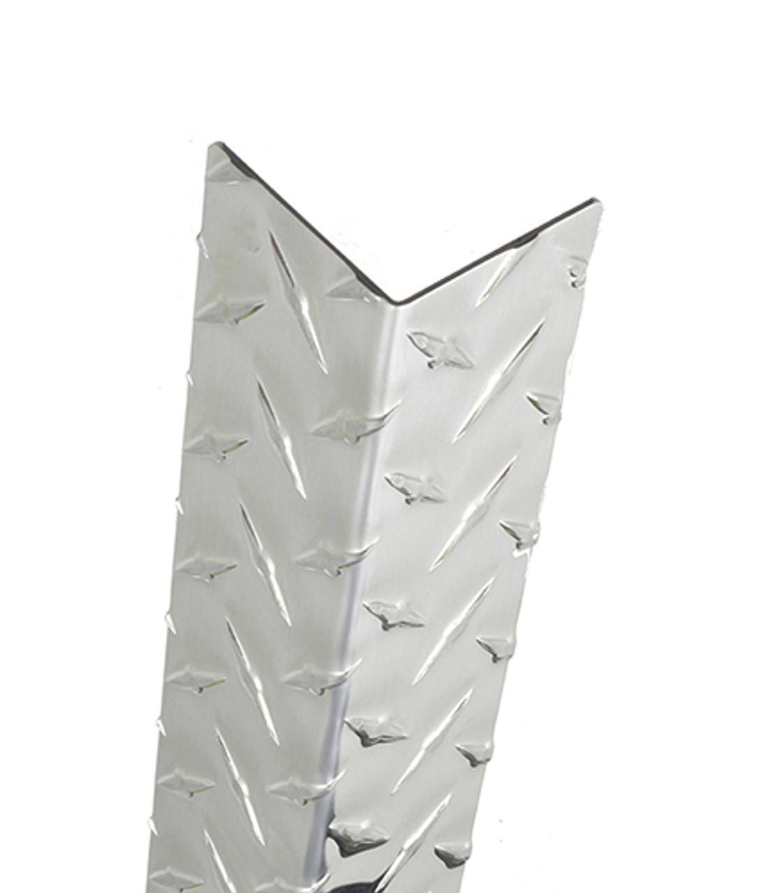 60in X 2in 063 Aluminum Diamond Plate Corner Guard
