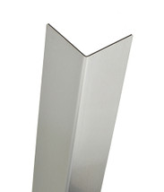 96in X 2in 16ga Brushed Stainless Steel Wall Corner Guard