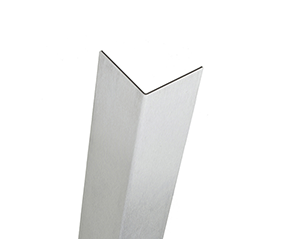 .060 Un-Anodized aluminum corner guards - Thinnest