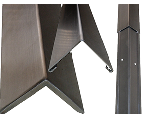 Stainless Steel 2 Piece Corner Guards