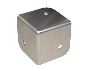 Stainless Steel 3-Sided Corner Guards
