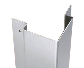 Stainless Steel Flush-Mount Corner Guards