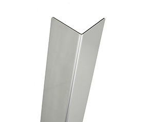 Steel U-Profile Folded Edge protection corner cover section 2,99 80 x 80 140