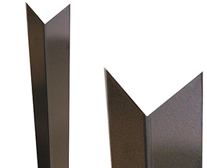 Stainless Steel Trapezoid Corner Guards