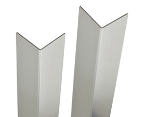 Stainless Steel Brushed Finish 14ga Heavy Duty Corner Guards