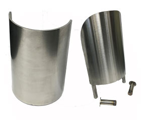 Stainless Steel - Heavy Duty Floor Mounted Corner Guards