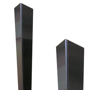Stainless Steel Trapezoid Corner Guards with a Crown Top