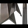 2 Piece Stainless Steel w/Alum Retainer