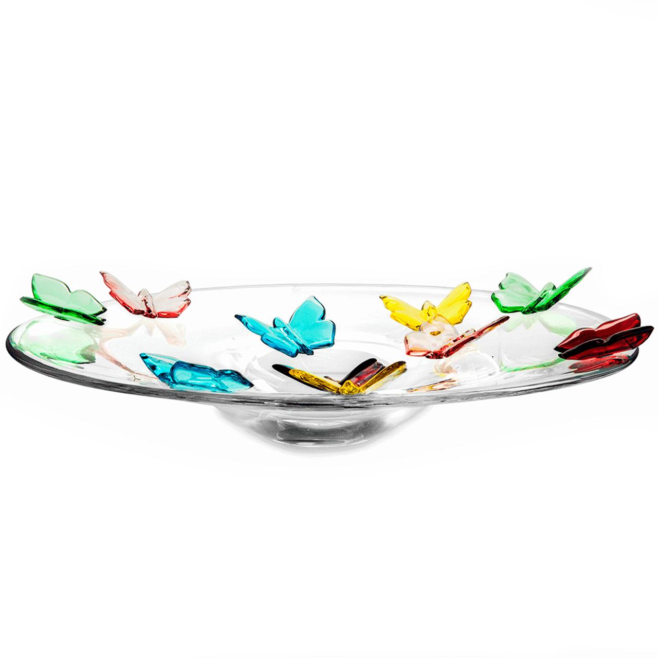 Butterfly Centerpiece Art Glass Between The Sheets