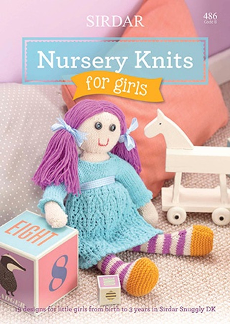 Sirdar Snuggly DK Nursery Knits for Girls Book 486