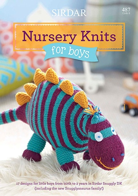 Sirdar Snuggly DK Nursery Knits for Boys Book 487