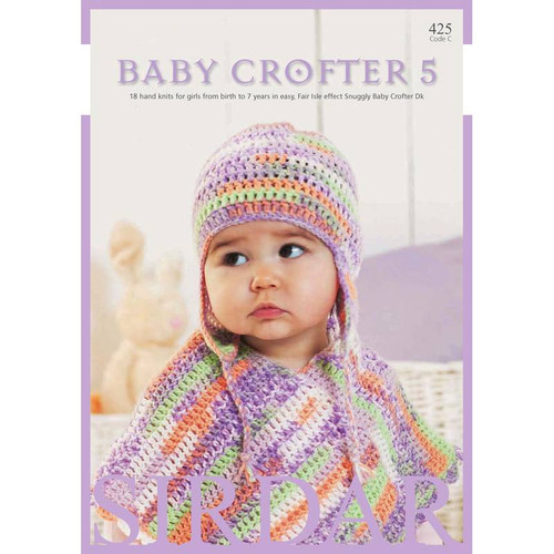 Sirdar Baby Crofter DK Baby Crofter Girls Book 425