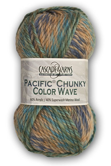 Pacific Chunky Color Wave