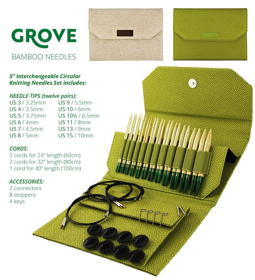 GROVE Bamboo Interchangeable Set