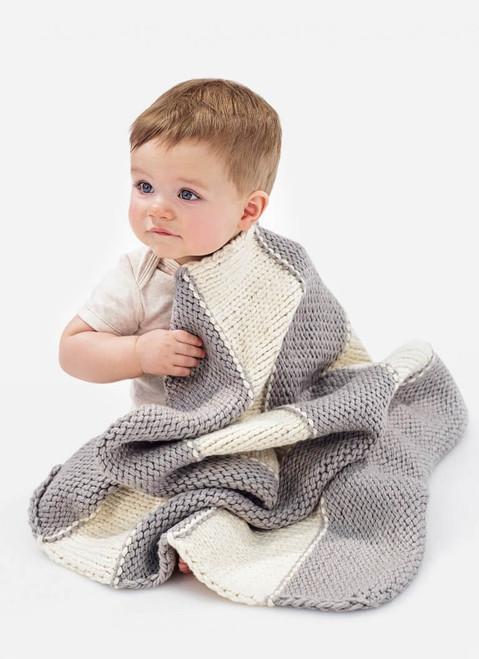 Blue Sky Fibers / Spud & Chloe Pattern 9222 Bundle Me Blanket & Sweetie Socks