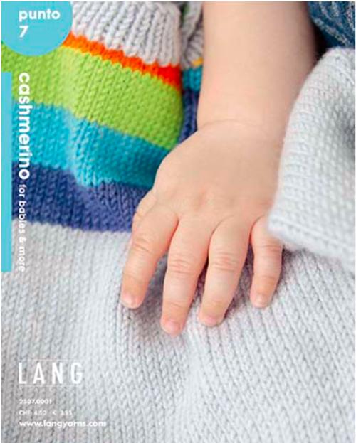 Lang Book - Punto 7 Cashmerino Babies