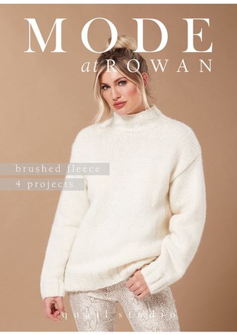 Rowan Book - ZB260  MODE at Rowan Brushed Fleece - Quail Studio