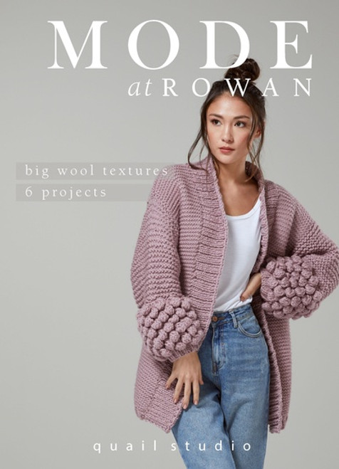 Rowan Book - ZB263 MODE at Rowan Big Wool Textures - Quail Studio