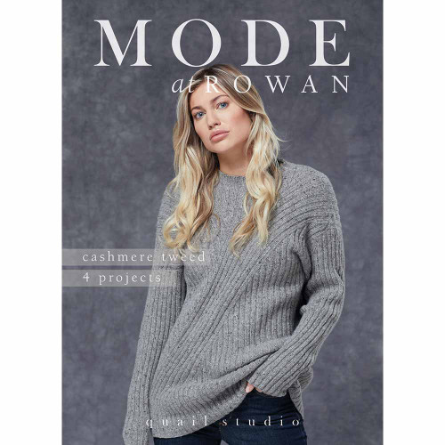 Rowan Book  - ZB261 MODE at Rowan Cashmere Tweed - Quail Studio