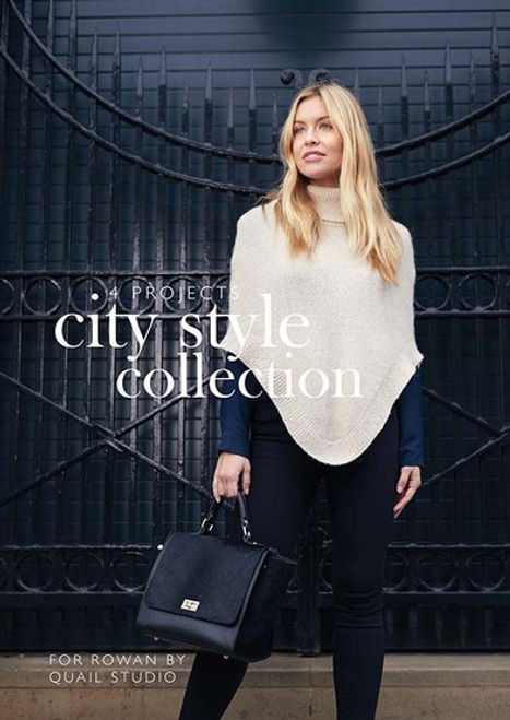 Rowan Booklet by Quail Studio - City Style Collection - 4 projects