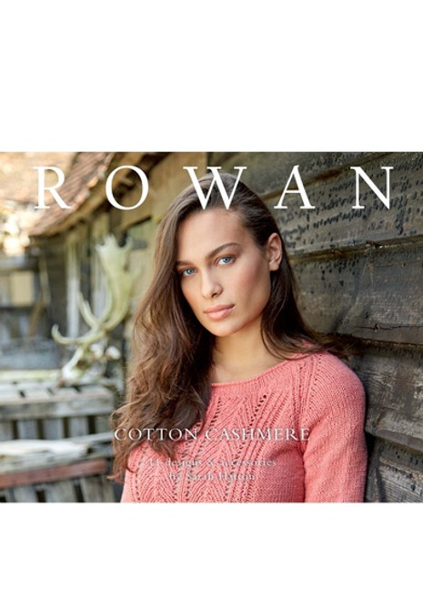 Rowan Book - ZB232 Cotton Cashmere by Sarah Hatton
