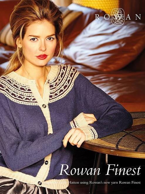 Rowan Selects Book - Rowan Finest by Sarah Hatton