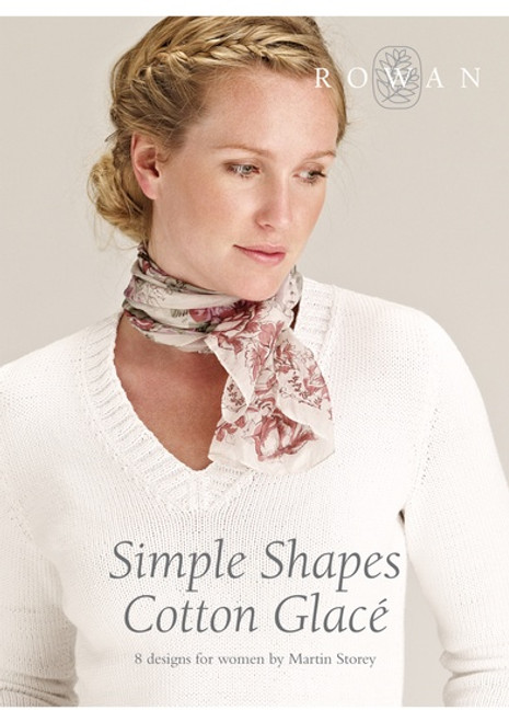 Rowan Book - Simple Shapes Cotton Glace by Martin Storey