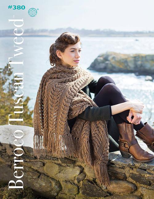 Berroco Booklet - 380 Berroco Tuscan Tweed