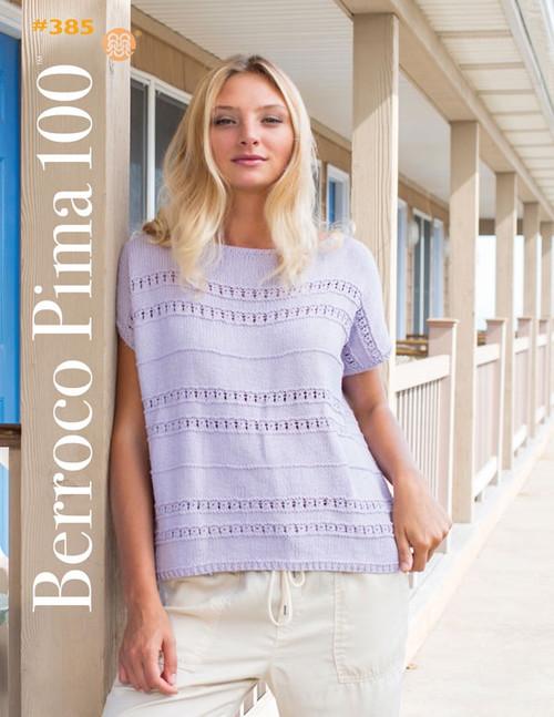 Berroco Booklet - 385 Berroco Pima 100