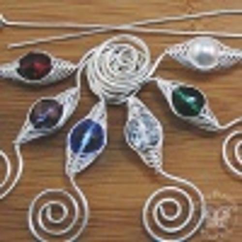 All Birthstone Shawl Pins - Noteworthy Silver