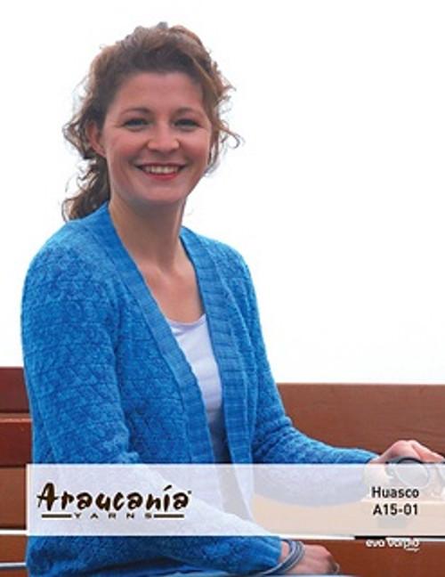 Araucania Pattern - Huasco Pattern A15-01 Crochet Cardigan