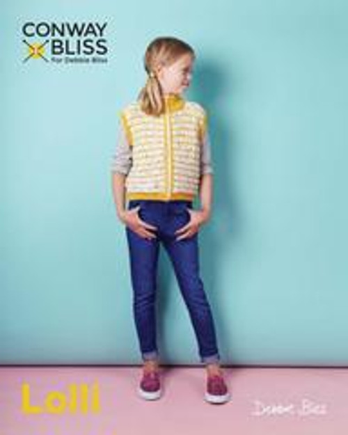 Debbie Bliss Pattern - CB019 Zip Up Gilet