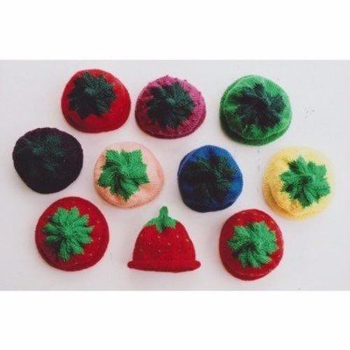 Ann Norling Pattern - #10 Kid's Fruit Cap