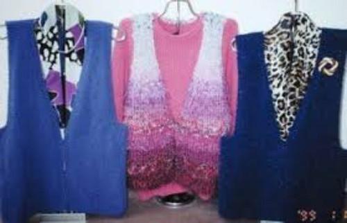 Ann Norling Pattern - #14 One Piece Vest (Weekend)
