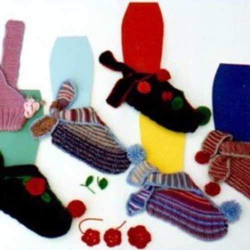 Ann Norling Pattern - #16 Mary Jane Slippers