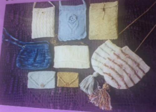 Ann Norling Pattern - #31 Small Knit Purses