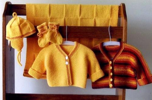 Ann Norling Pattern - #68 Infant Set III