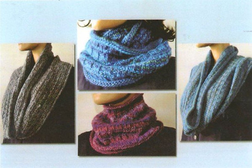 Ann Norling Pattern - #71 Any Gauge Cowl