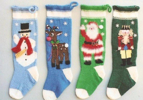 Ann Norling Pattern - #1013 Knitted Christmas Stockings