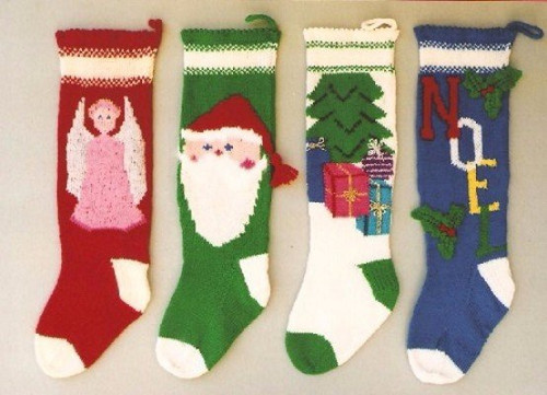 Ann Norling Pattern - #1018 Knitted Christmas Stockings