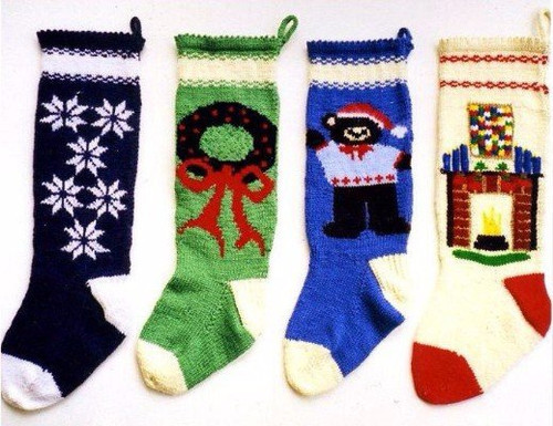 Ann Norling Pattern - #1019 Knitted Christmas Stockings