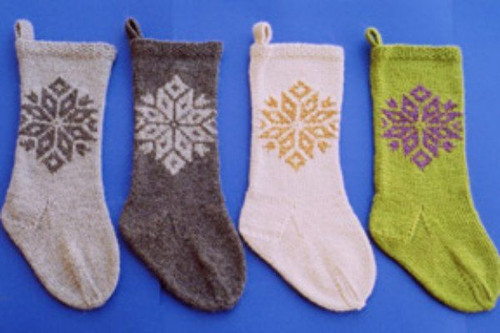Ann Norling Pattern - #1020 Knitted Christmas Stockings