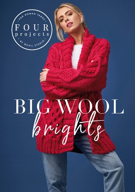 Rowan Book - ZB282 Big Wool Brights