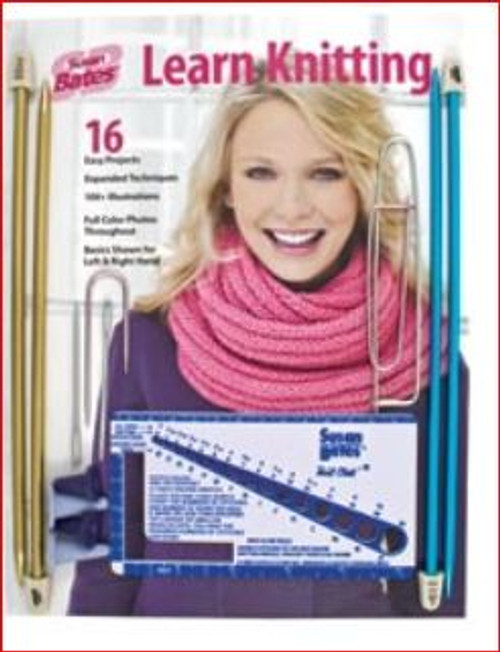Learn to Knit Kit - Susan Bates
