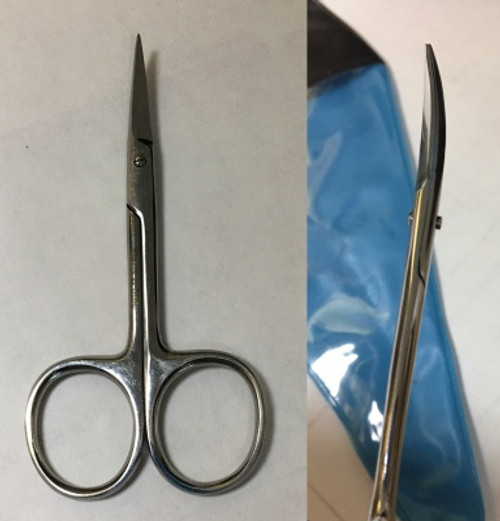 Double Curved Embroider Scissors 3-1/2""